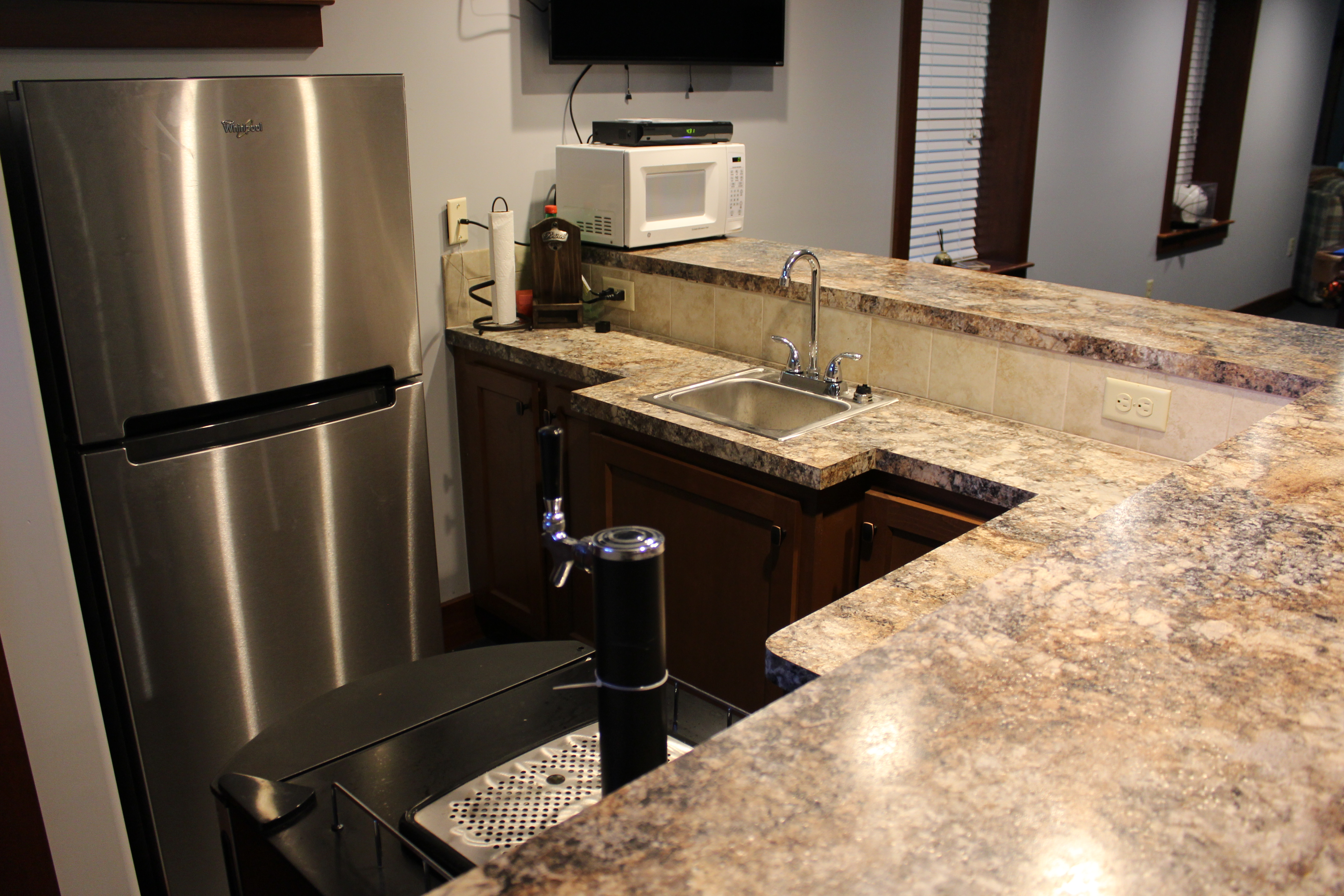 Basemet Counter tops Reconstruction