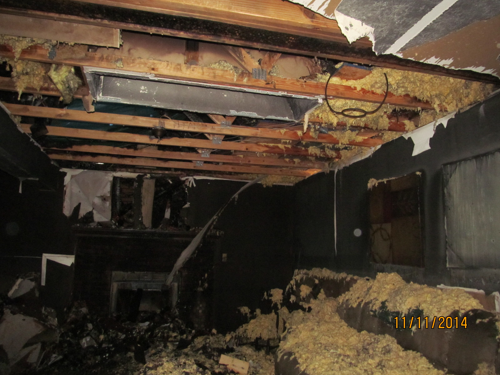 Basement Fire and Smoke Damage