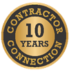 10 years Contractor Connection