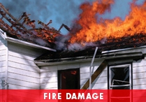 Fire Damage Cleanup - Dayton OH
